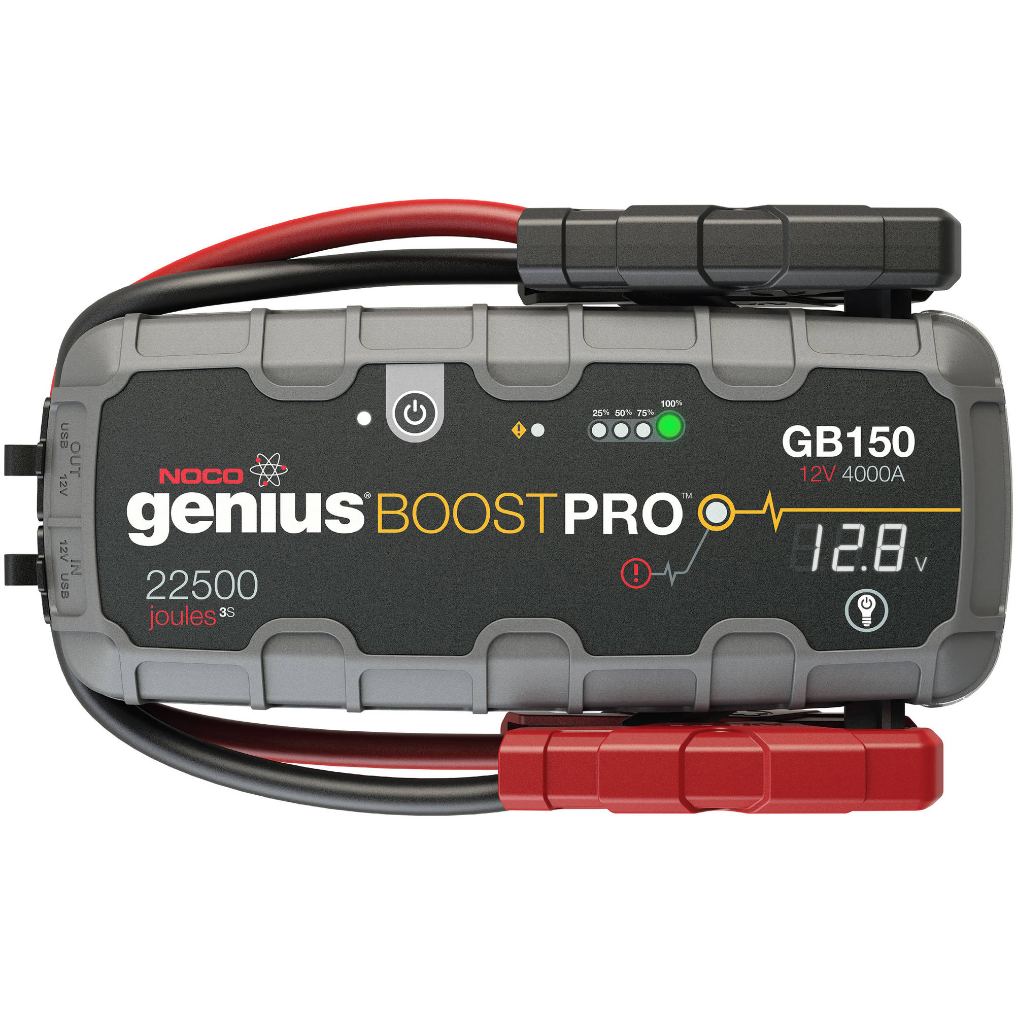 NOCO Genius Boost Pro GB150 4,000 Amp 12V UltraSafe Lithium Jump Starter