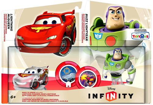 Disney Infinity Race to Space Game Figure 2-Pack by