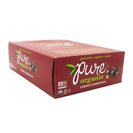 Pure ® Organic Cherry Cashew Fruit & Nut Bars 12-1.7 oz. Bars
