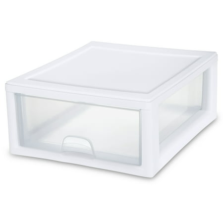 Sterilite, 16 Qt./15 L Stacking Drawer, White ()