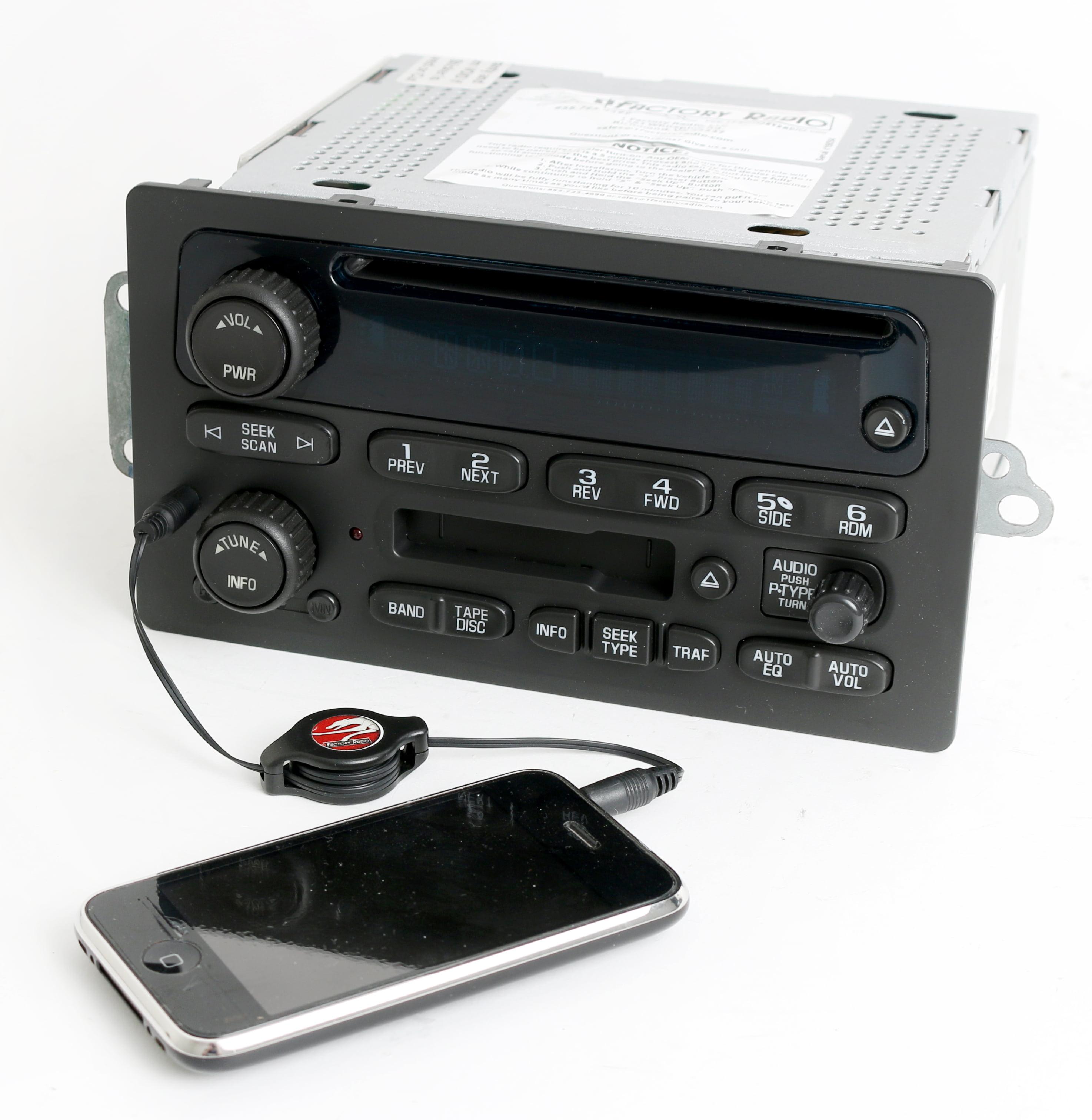 Chevy GMC 2003-2005 Truck Radio AM FM CD Player w Bluetooth Music Part 10357894