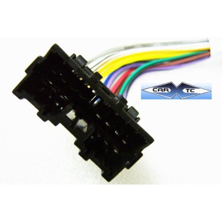 Mitsubishi Eclipse Wiring Harness (Stereo Wire Harness Mitsubishi Eclipse 95 96 97 98 (car radio wiring installation parts) By Carxtc Ship from US)