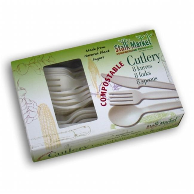 Asean CPLA-004-R Compostable Assorted Retail