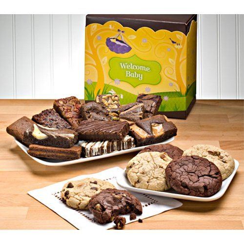 Fairytale Brownies Welcome Baby Cookie and Sprite Combo Gift Box