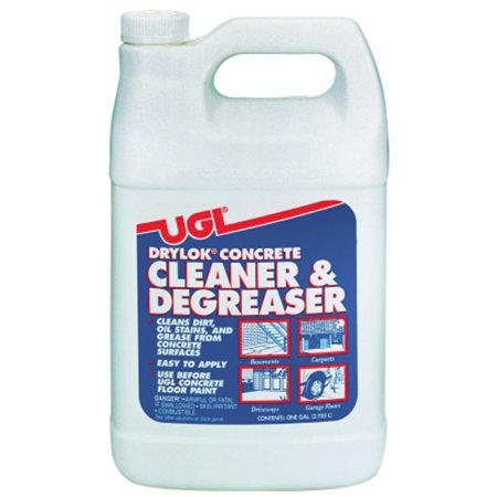 United gilsonite drylok concrete cleaner and degreaser for Concrete floor degreaser