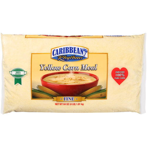 Caribbean Rhythms Fine Yellow Corn Meal, 64 oz