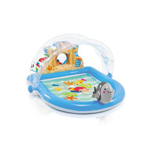 Intex Summer Lovin' Beach Inflatable Play Spray Kids Kiddie Pool   57421EP