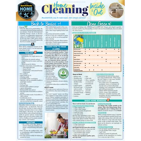 Home Cleaning - Inside & Out : the Best, Safest Solutions for Household Maintenance, Stain Removal, and Guide to Making Your Own