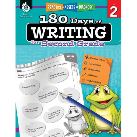 180 Days of Writing for Second Grade (Grade 2) : Practice, Assess, Diagnose - Halloween Writing Activities 2nd Grade
