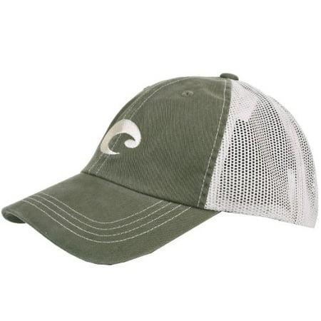 Costa Del Mar Mesh Hat, Moss (Costa Warranty)