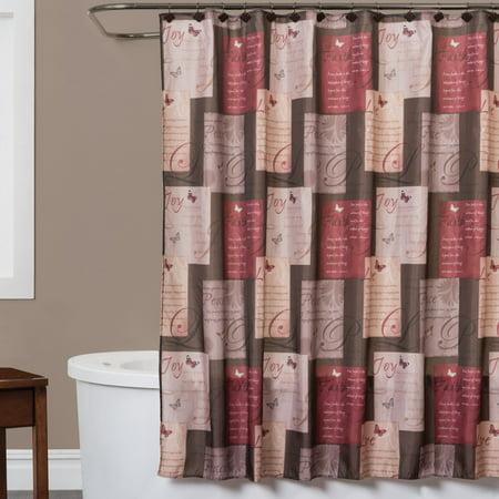 Saturday Knight Ltd. Grace Polyester Shower Curtain