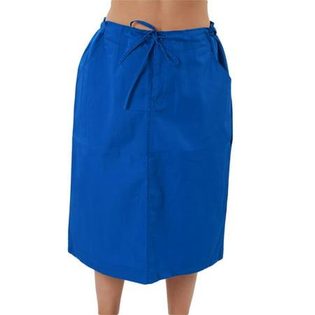 Lined Uniform (MAZEL UNIFORMS WOMENS HIGH WAISTED A-LINE SCRUB SKIRT )