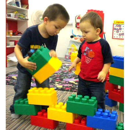 IMEX JUMBO Building Blocks 48 Pieces (Starter Pack)