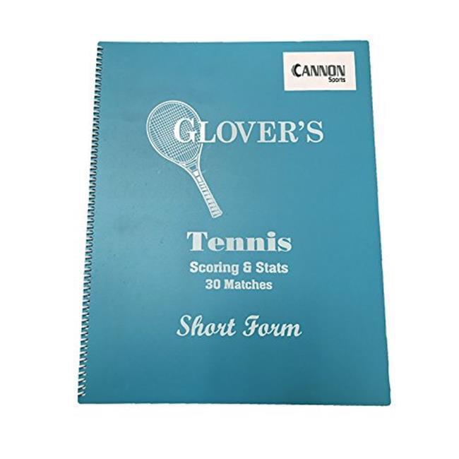 CSI Cannon Sports 13355 Cannon Sports Tennis Short Form Scorebook by CSI Cannon Sports