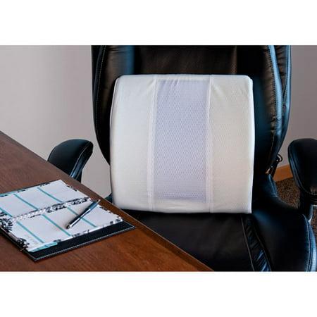 spa sensations cool gel memory foam lumbar support pillow. Black Bedroom Furniture Sets. Home Design Ideas