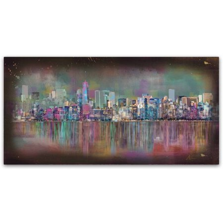 New York City Fine Art (Trademark Fine Art 'New York City' Canvas Art by Ellicia Amando)