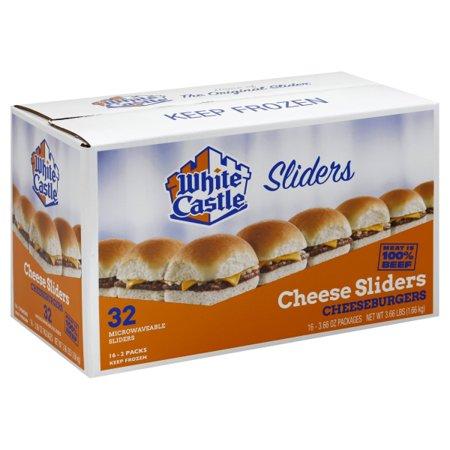 white castle cheeseburger sliders