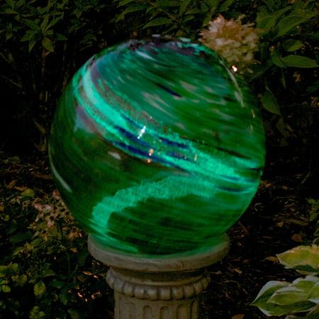 Echo Valley 10 in. Swirl Illuminarie Gazing Globe