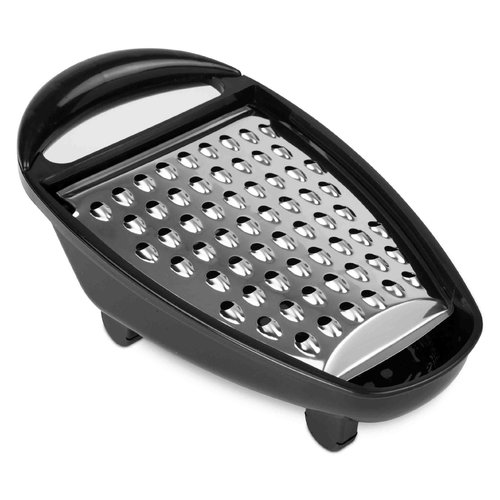 Home Basics Cheese Grater with Collector (Set of 2)