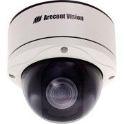 Arecont Vision 5 Megapixel MegaDome 2 IP Camera: Day/Night, 3.6-9mm Remote Focus, Remote Zoom, Auto Iris Lens, PoE