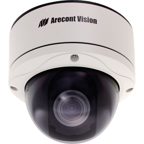 Arecont Vision 5 Megapixel MegaDome 2 IP Camera: Day/Night, 3.6-9mm Remote Focus, Remote Zoom, Auto Iris Lens, PoE