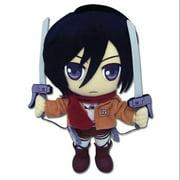 Attack On Titan Mikasa Plush