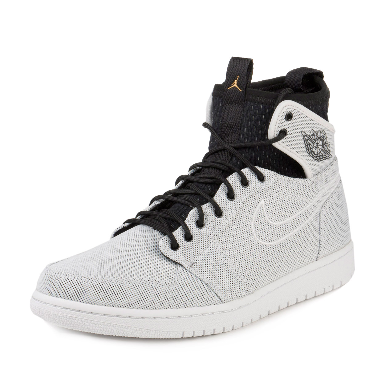 Nike Mens Air Jordan 1 Retro Ultra High White/Mtcl Gld Cn...