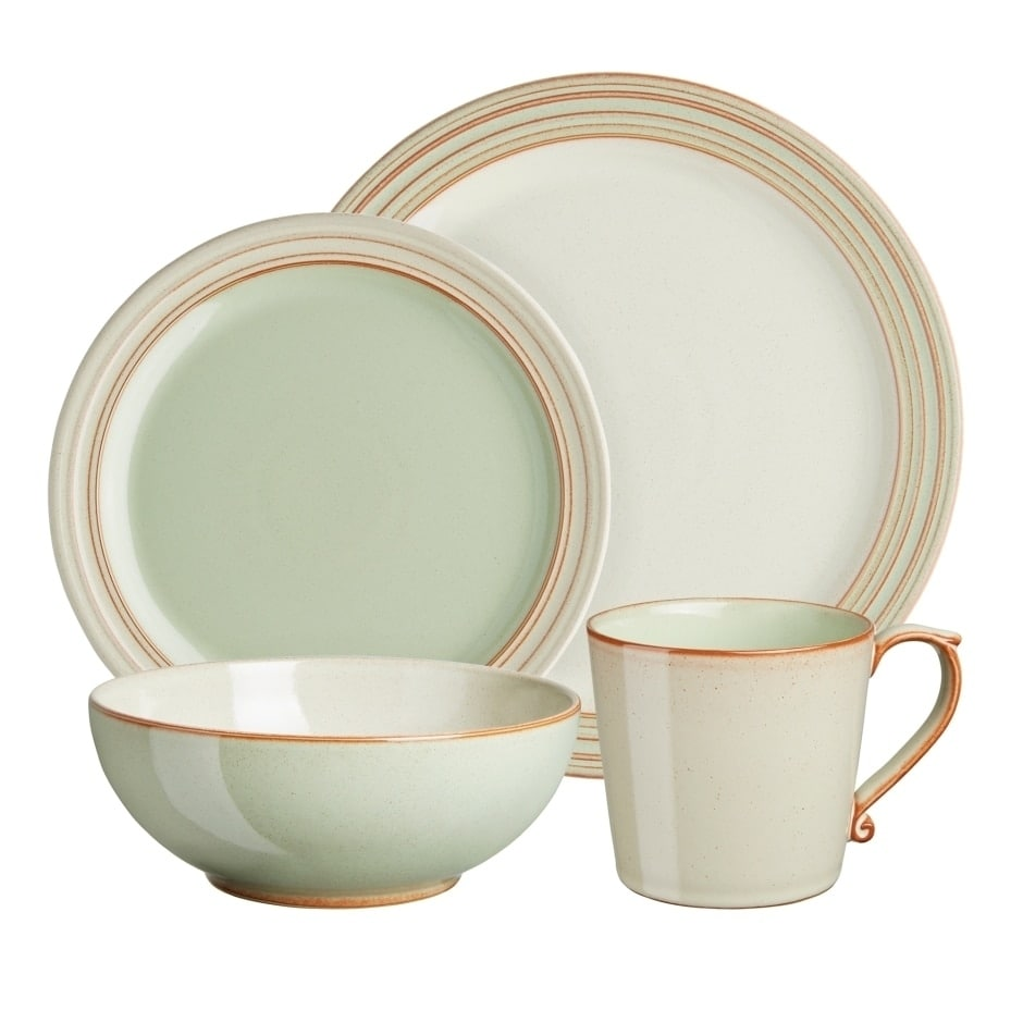 Denby Heritage Orchard Green 4-piece Place Setting by Overstock