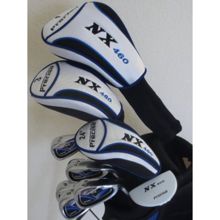 Tall Mens Golf Set Driver, Fairway Wood, Hybrid, Irons, Sand Wedge, Putter Clubs & Stand Bag +1