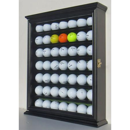 49 Golf Ball Display Case Cabinet Holder Rack w/ UV ...