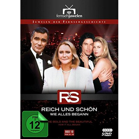 The Bold and the Beautiful - How It All Began (Ep. 226-250) - 5-DVD Box Set ( Bold & the Beautiful - Box 10 - Episodes 226 - 250 ) [ NON-USA FORMAT, PAL, Reg.0 Import - Germany (The Bold And The Beautiful Episodes 2012)