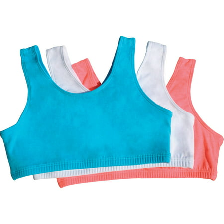 755f54a436 Fruit of the Loom - Fruit of the Loom Girls Built Up Sport Bra ...