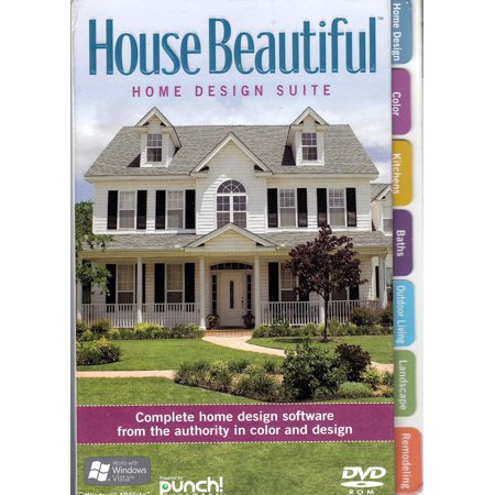 House Beautiful Home Design Suite DVD-Rom - All the tools you need to design your dream (Print Shop Design Suite)