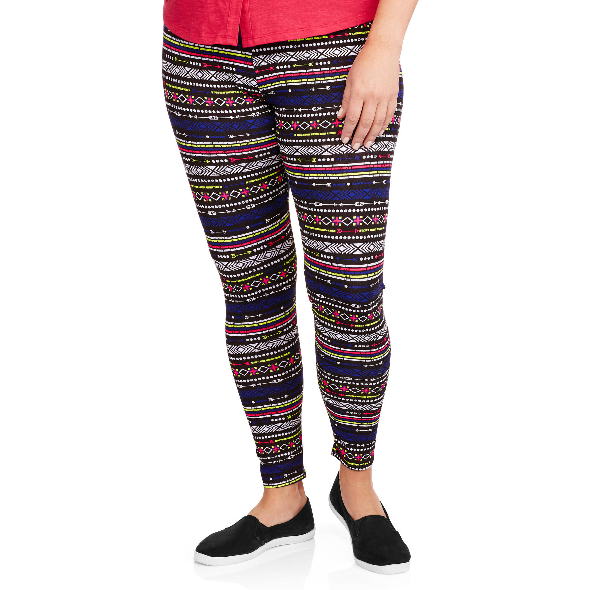 No Boundaries Junior Plus-Size Ankle Leggings