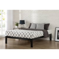 "Zinus Lorrick 14"" Quick Snap Metal Platform Bed, No Box Spring Needed, Multiple Sizes"