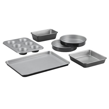 Cuisinart 6 Piece Bakeware Set, - Metal Barware