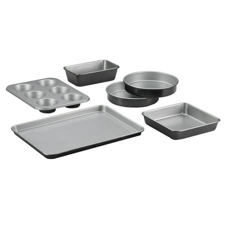 (Cuisinart 6 Piece Bakeware Set, Metal)