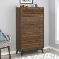 Ameriwood Home Vaughn 5 Drawer Dresser, Multiple Colors