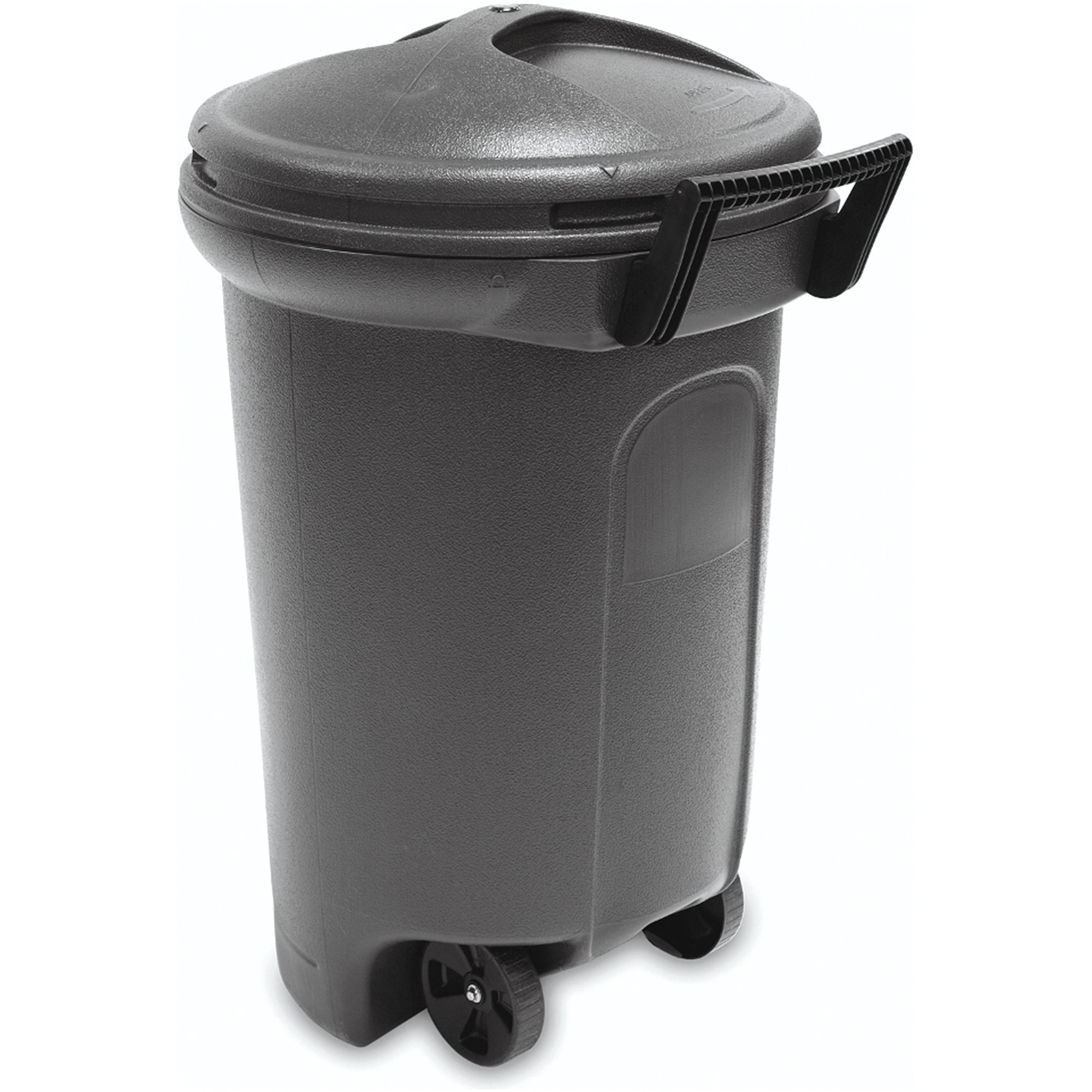 32 gallon wheeled trash can with turn & lock lid - walmart