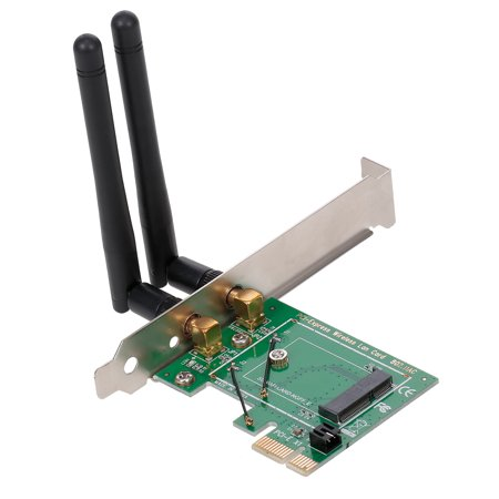 M.2 NGFF to PCI-E Converter Card Network Card Gigabit Ethernet BT Adapter Card Board for Desktop PC - image 6 de 7