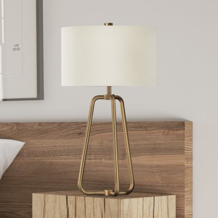 Brass Antique Table Lamp - Marduk table lamp in antique brass