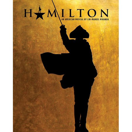 Hamilton Broadway Print (Flat Only) 16 x 20 (Printed on card no rolling available) Laminated Poster Print (24 x 36)