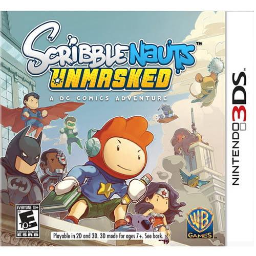 Scribblenauts Unmasked: A DC Comics Adventure (Nintendo 3DS) - Pre-Owned
