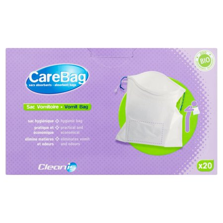 Carebag Vomit Bag Absorbent Bags  20 Count