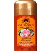 Levlad Natures Gate Organics Fruit Blend Deodorant, 1.7 oz