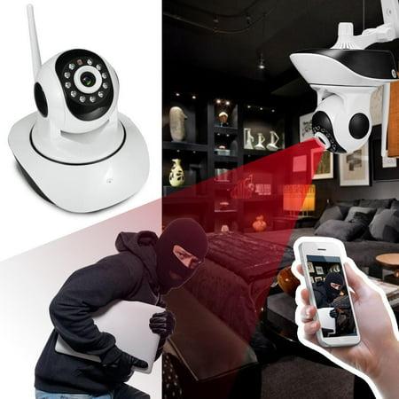 Big Clearance  Elecmall  HD 720P Wireless Wifi Network  Security Night Vision IP PTZ Camera Web Cam Elec