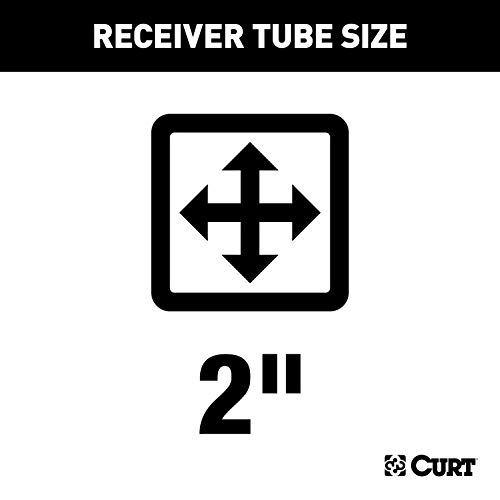 CURT 31540 Front Mount Receiver