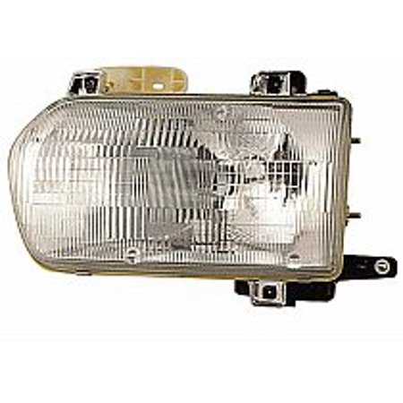 Go-Parts OE Replacement for 1996 - 1999 Nissan Pathfinder Front Headlight Assembly Housing / Lens / Cover - Left (Driver) 26060-0W025 NI2502120 Replacement For Nissan Pathfinder Backup Light Left Driver