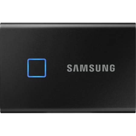 Samsung MU-PC1T0K/WW Portable SSD T7 Touch USB 3.2 1TB - Black