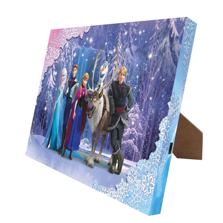 "8"" x 10"" Mr. Christmas Disney Frozen Illuminart LED Lighted Canvas Wall Art #11833"